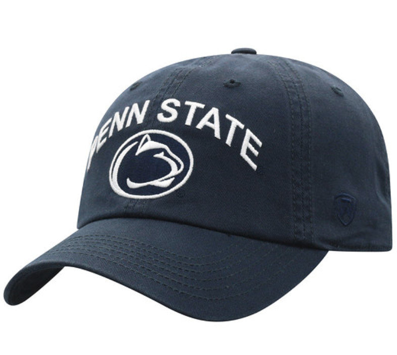 Penn State Youth Arching Over Lion Hat Navy Nittany Lions (PSU)