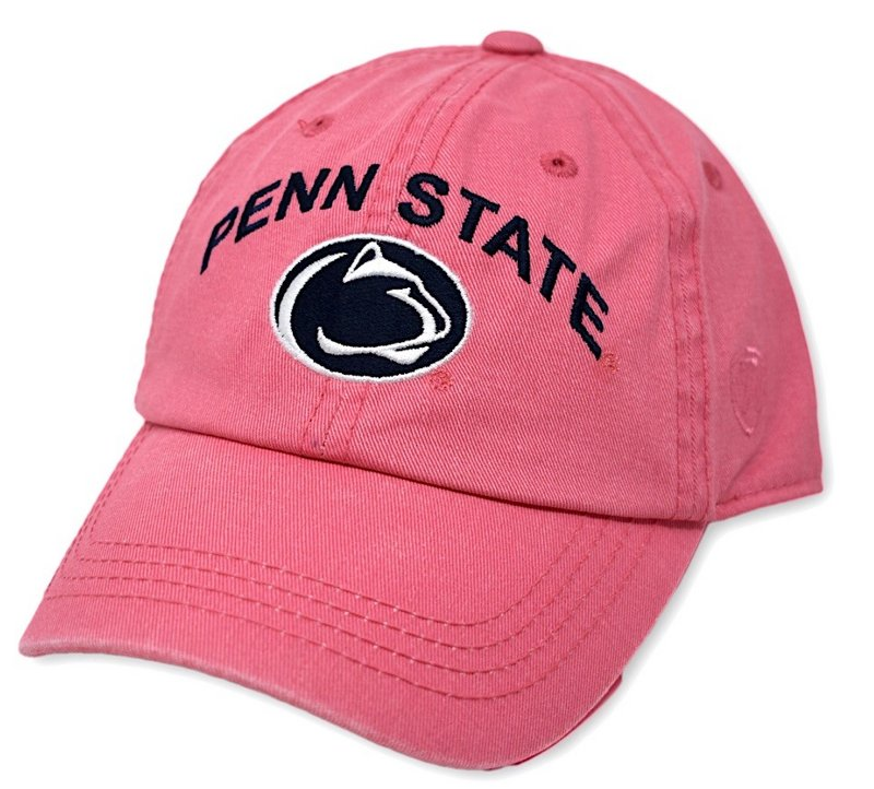 Penn State Youth Arching Over Lion Hat Pink Nittany Lions (PSU)