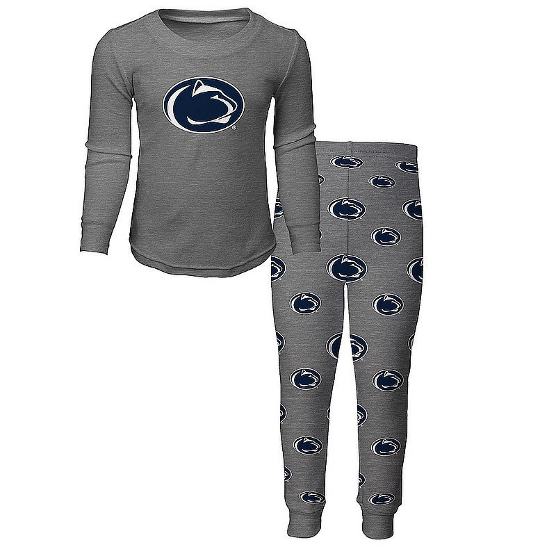 Penn State Youth Gray Sleep Set Nittany Lions (PSU)