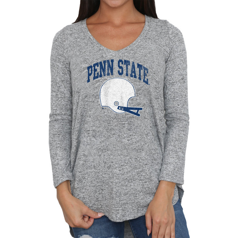 Retro Brand Penn State Women's Super Soft Long Sleeve Nittany Lions (PSU) (Retro Brand)