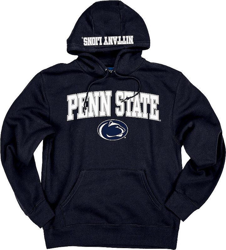 Top of the World Penn State Embroidered Hooded Sweatshirt Navy Nittany Lions (PSU) (Top of the World )