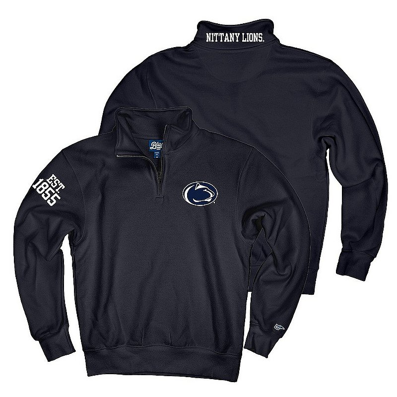 Top of The World Penn State Embroidered Premium Fleece Quarter Zip Navy Nittany Lions (PSU) (Top of The World )