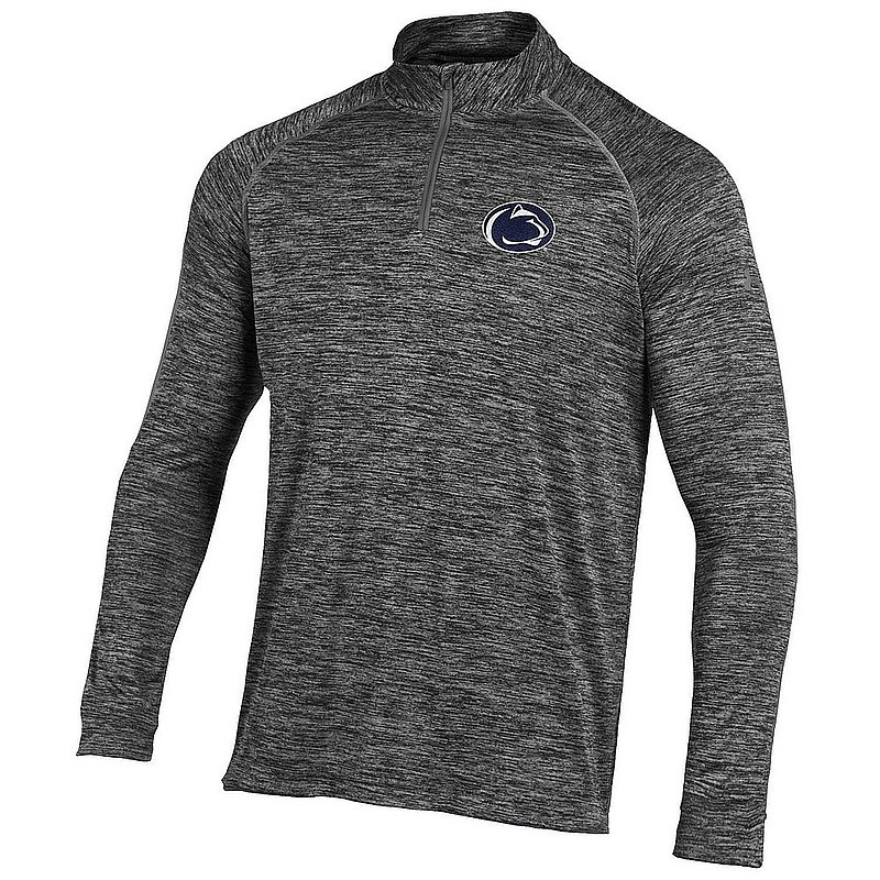 Under Armour Penn State Mens Quarter Zip Long Sleeve Shirt Carbon Nittany Lions (PSU) (Under Armour)
