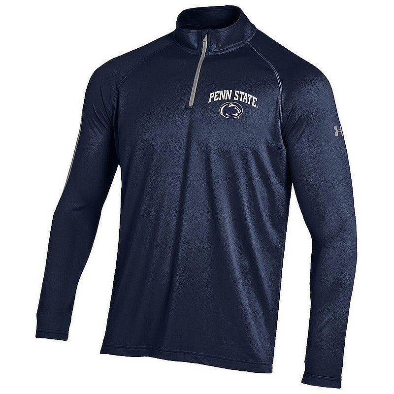 Under Armour Penn State Mens Quarter Zip Long Sleeve Shirt Navy Nittany Lions (PSU) (Under Armour)