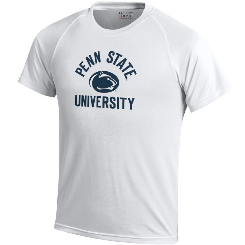 Under Armour Penn State Nittany Lions Kids Performance T-Shirt White Nittany Lions (PSU) (Under Armour)