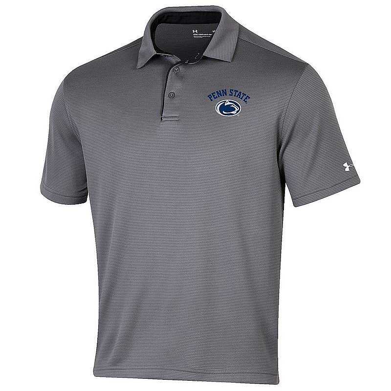 45e29a0f0255 Penn State Nittany Lions Performance Polo Shirt Carbon Under Armour