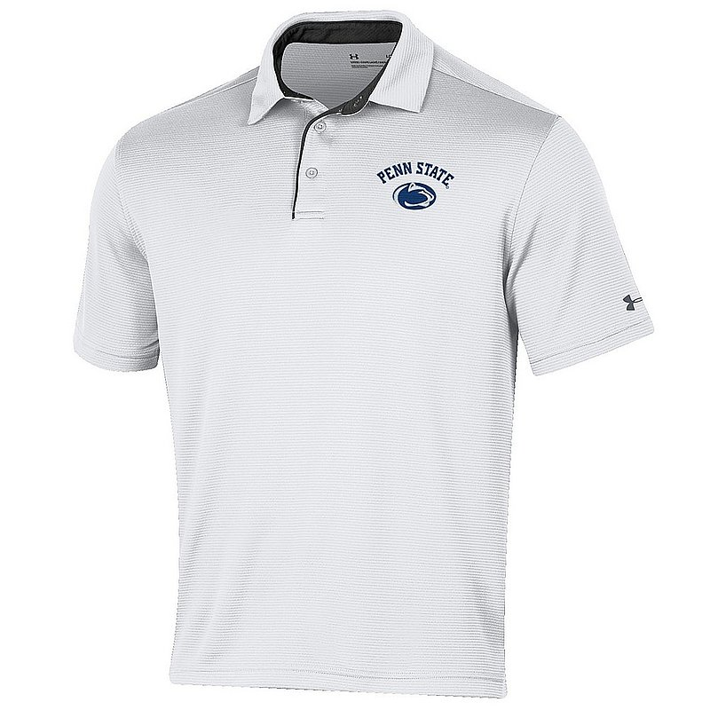 18fc11e7a75d Penn State Nittany Lions Performance Polo White Under Armour