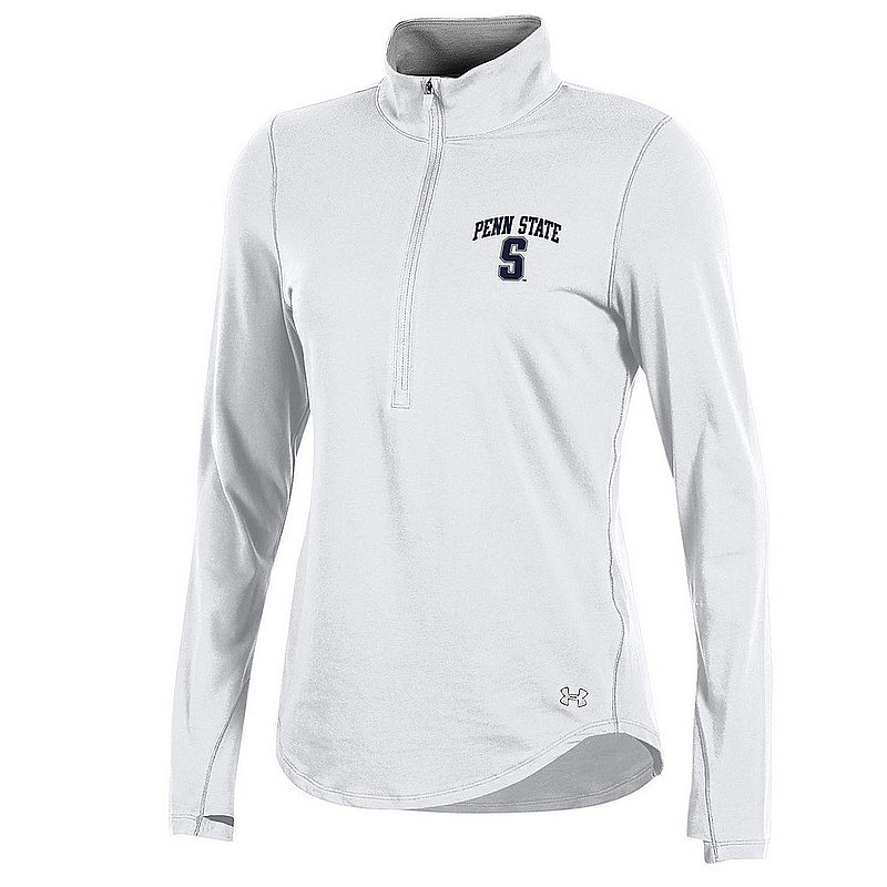 Under Armour Stock Quote Today: Penn State Women's White Performance 1/2 Zip Nittany Lions