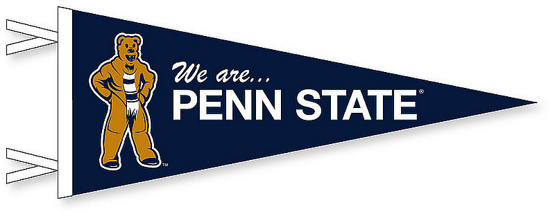 We are...Penn State 12 x 30 Felt Pennant Nittany Lions (PSU)