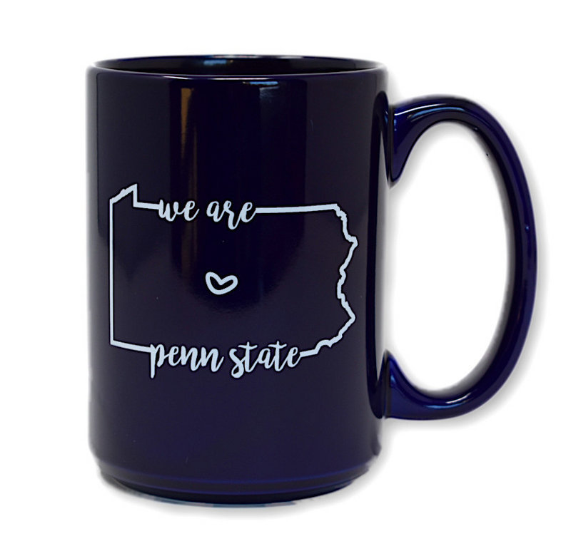 We Are Penn State Heart Mug Navy Nittany Lions (PSU)