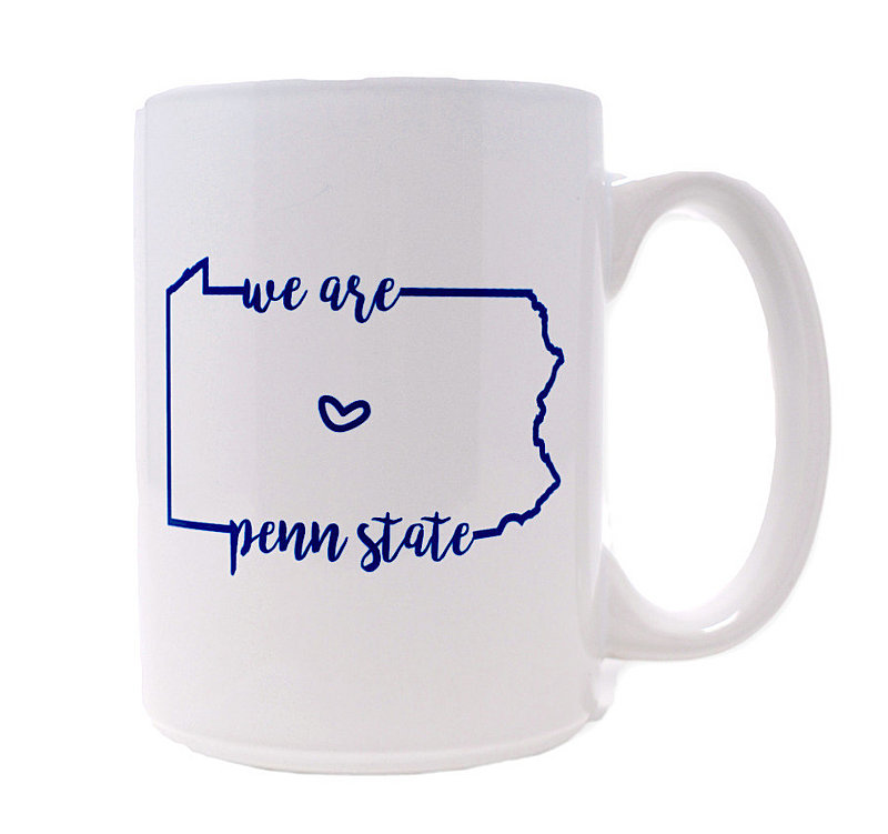 We Are Penn State Heart Mug White Nittany Lions (PSU)