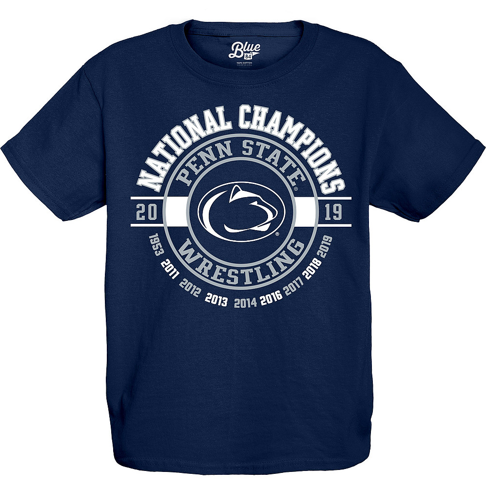6bdca1fa Penn State Youth Wrestling 2019 National Champs Legacy T-Shirt ...