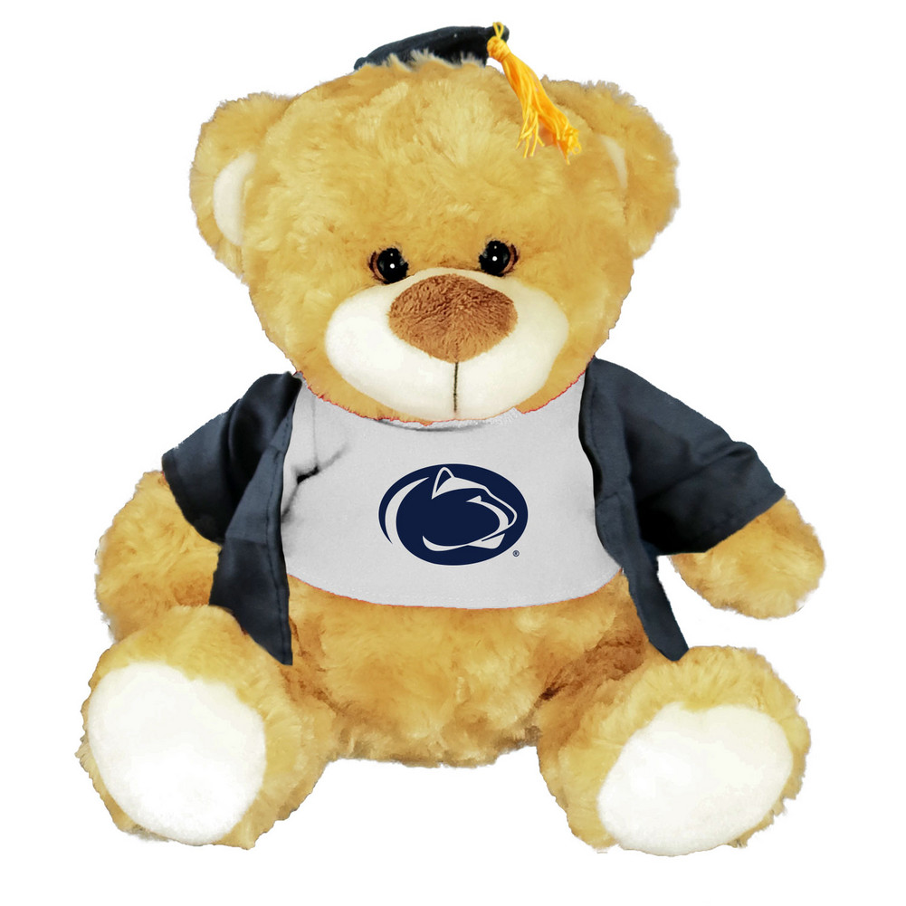 Penn State Graduation Bear With Cap And Gown Nittany Lions Psu