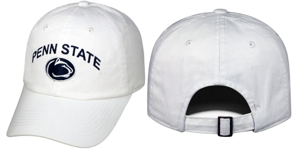 Penn State Hat White Arching Over Relaxed Fit Nittany Lions (PSU) 6496eee49e9d