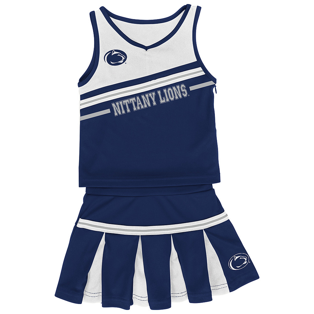 Penn State Infant Girls Cheerleading Outfit Nittany Lions