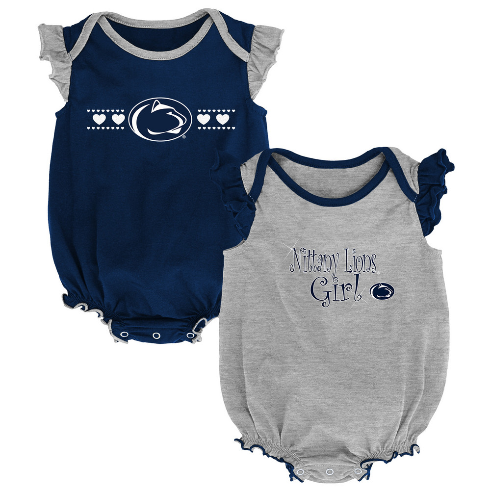 3de775ab6 Penn State Infant Girls Homecoming Onesie 2-Pack Nittany Lions (PSU)