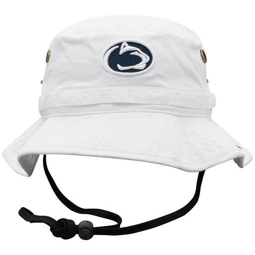 Penn State Nittany Lions Bucket Hat White Nittany Lions (PSU) 5dbddae7bf39