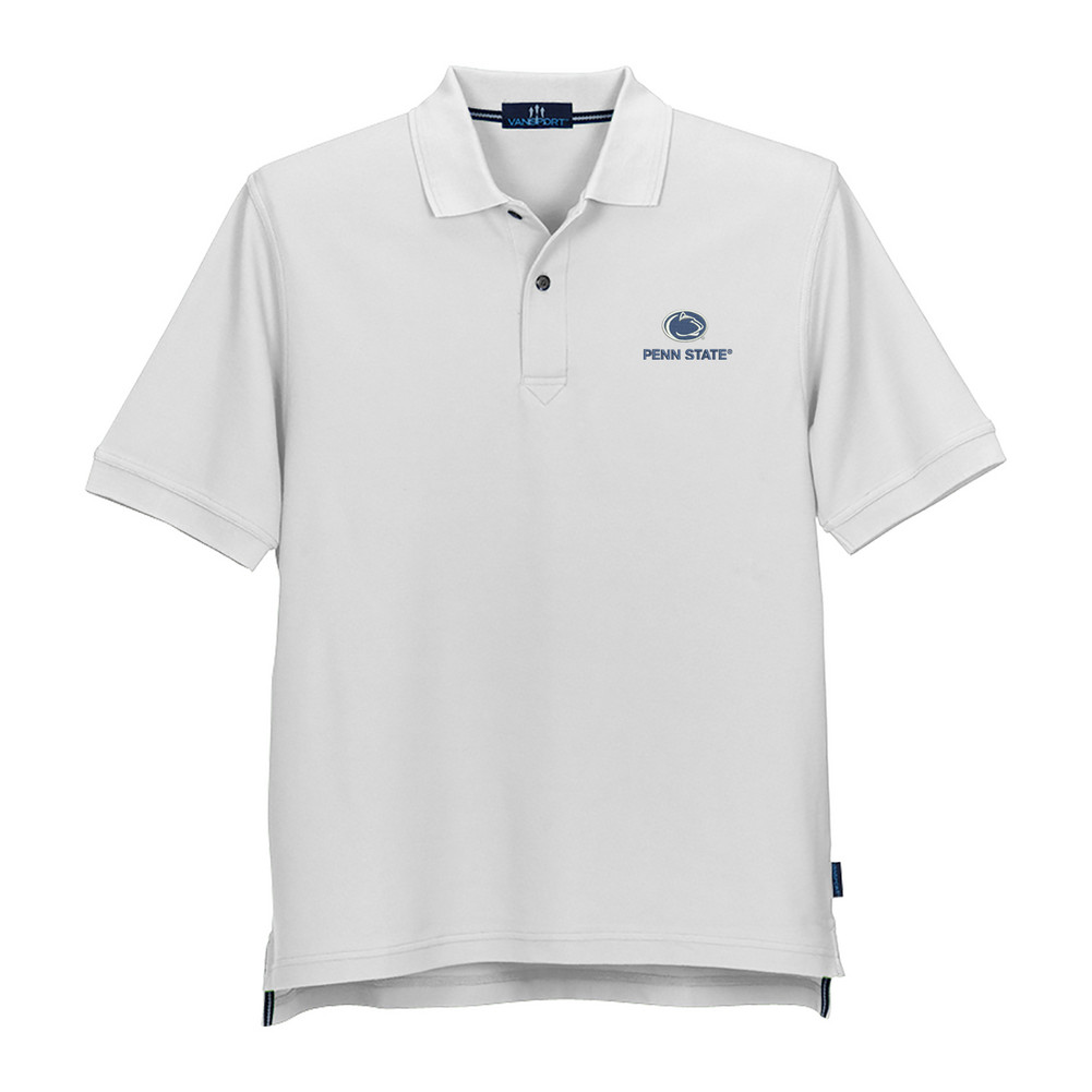 Penn State Tournament Double Tuck Pique Polo Nittany Lions Psu