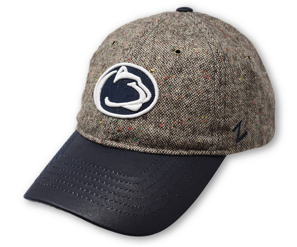 Penn State Tweed Ball Cap Graphite Brown Nittany Lions (PSU) b4537c5eaec