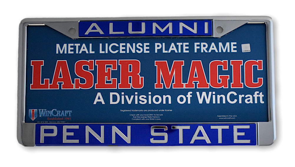 Penn State University Metal Alumni License Plate Nittany Lions (PSU)