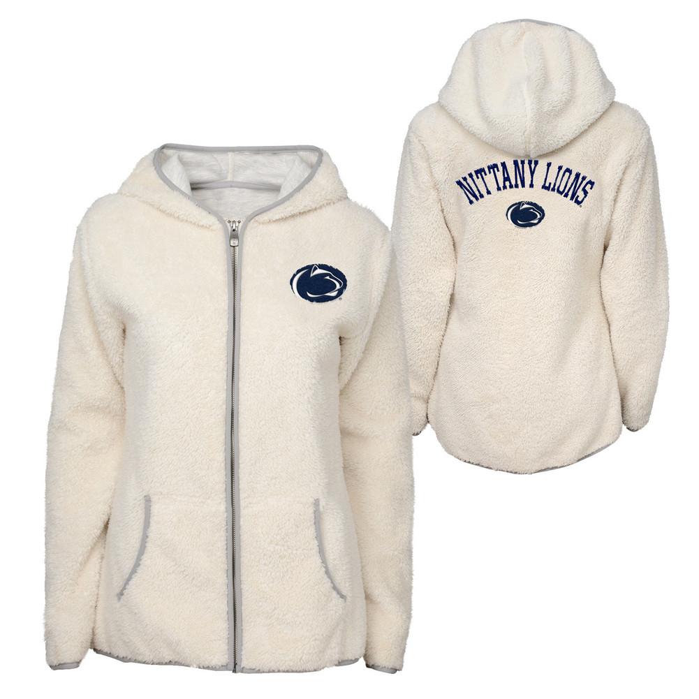 best website 02840 a6374 Penn State Women's Sherpa Full Zip Jacket Nittany Lions (PSU)