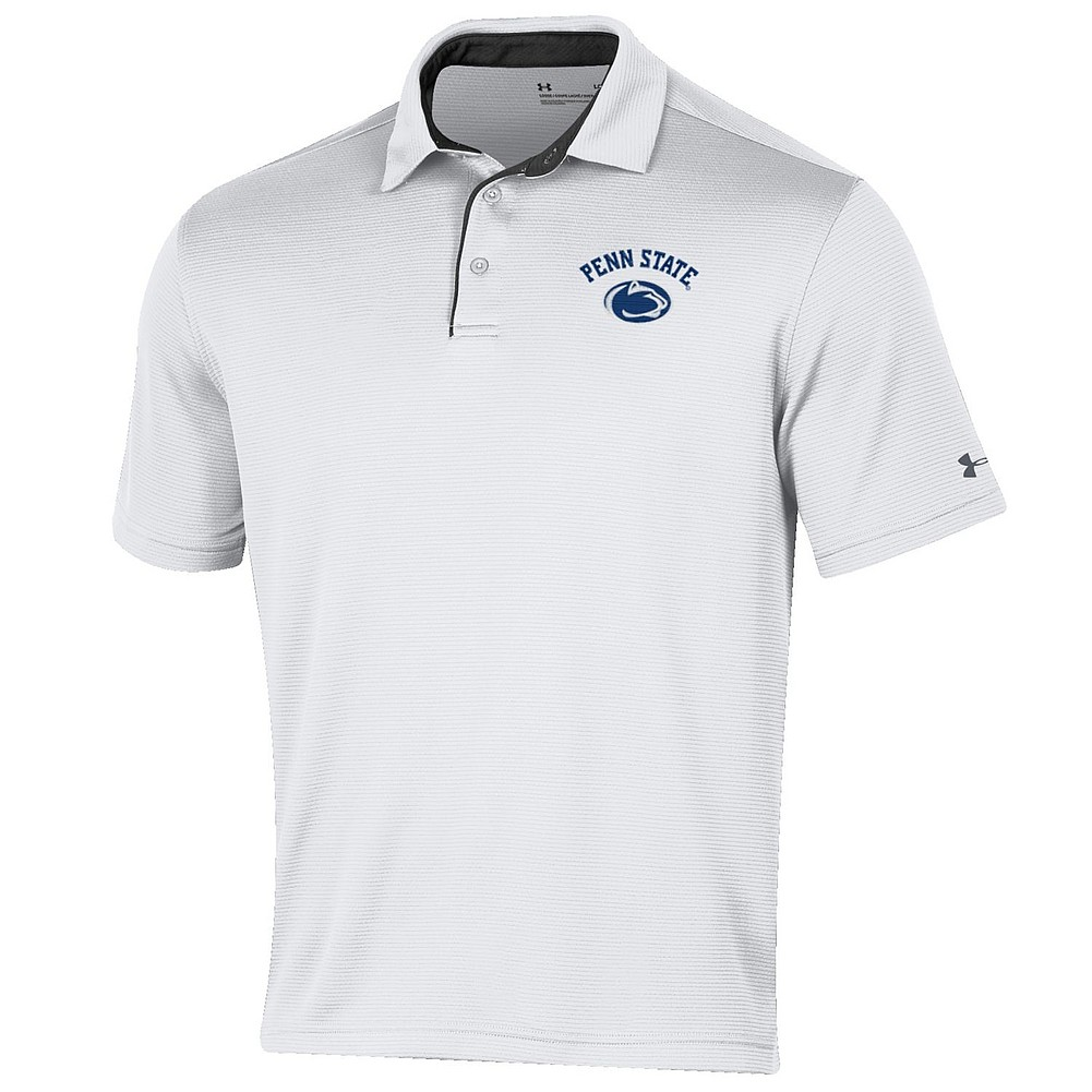 Penn State Nittany Lions Performance Polo White Nittany Lions Psu