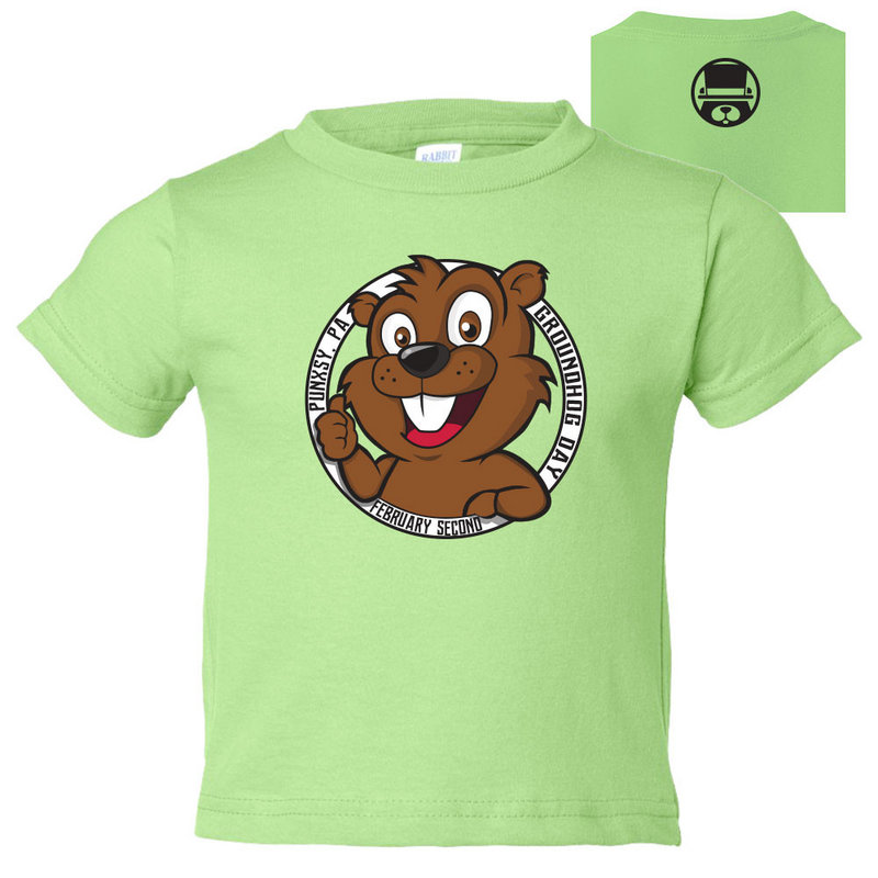 GHW4-Groundhog Day Toddler T-Shirt 3301-Key Lime