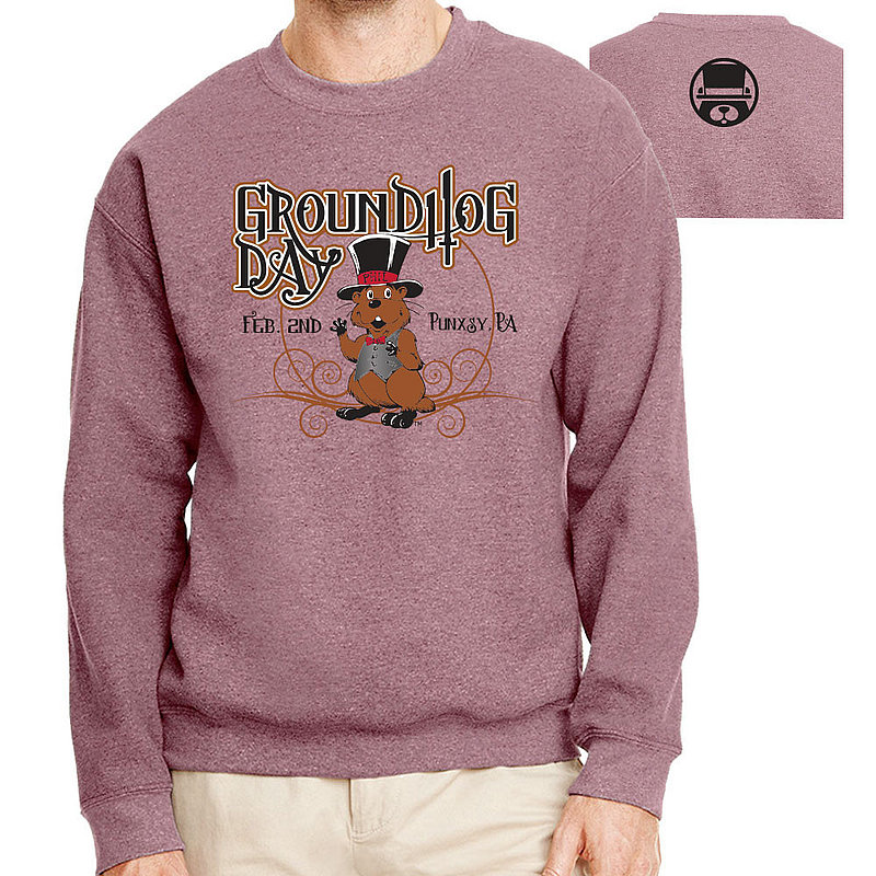 Groundhog Day Adult Crew Neck Sweatshirt - GHW6