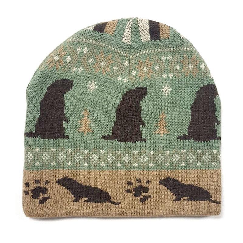 SPC Groundhog custom Knit Beanie GHW Beanie (SPC)