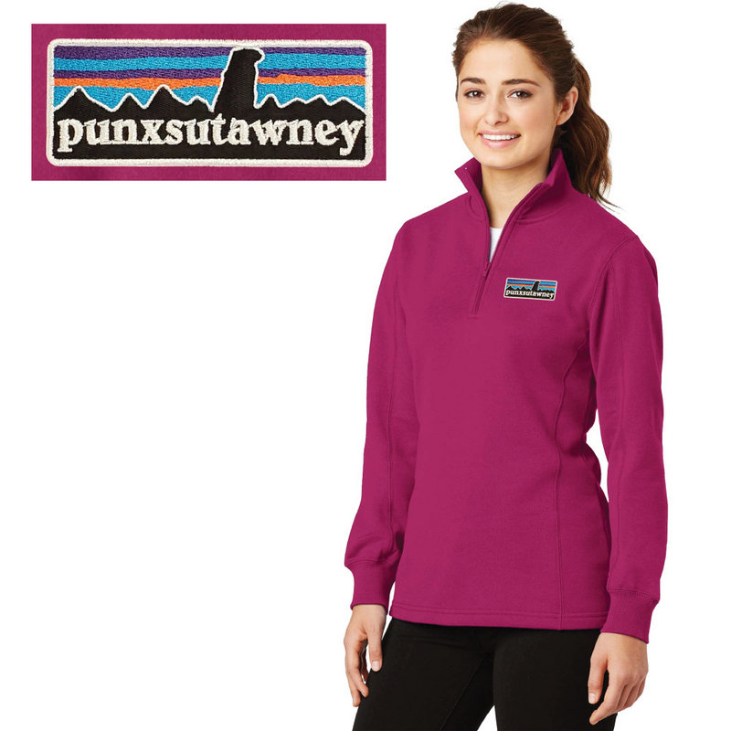 Ladies Sport Tek 1/4 Zip Sweatshirt