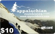 Appalachian Outdoors $10 Gift Card APPGIFT10 (Appalachian Outdoors)