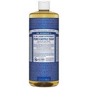 Dr. Bronner's Peppermint Liquid Soad - 32 oz 371511 (Dr. Bronner's)