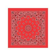 Liberty Mountain Red Cotton Bandana 518050 (Liberty Mountain)