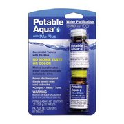 Potable Aqua Potable Aqua Plus Water Purification Tablets 371239 (Potable Aqua)