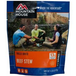photo: Mountain House Hearty Stew with Beef meat entrée