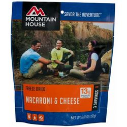 photo: Mountain House Macaroni & Cheese vegetarian entrée