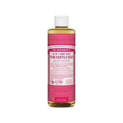 Dr. Bronner Rose Liquid Soap