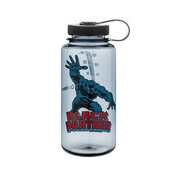 Tritan 32oz Wide Mouth Water Bottle, Black Panther