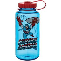 Captain America Wide Mouth 1 Qt Water Bottle