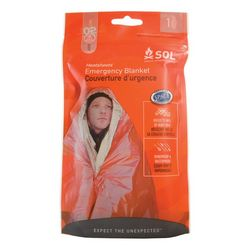 photo: SOL Heatsheets Emergency Blanket emergency shelter