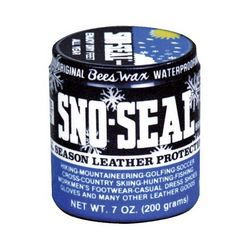 photo: Atsko Sno-Seal footwear cleaner/treatment