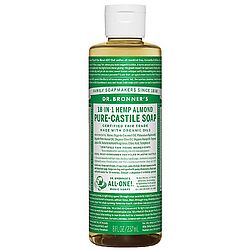 photo: Dr. Bronner Almond Liquid Soap soap/cleanser