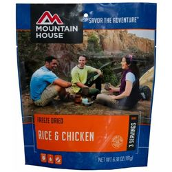 photo: Mountain House Rice & Chicken meat entrée