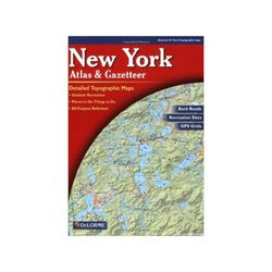 photo: DeLorme New York Atlas and Gazetteer us northeast paper map