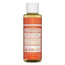 photo: Dr. Bronner Tea Tree Liquid Soap soap/cleanser