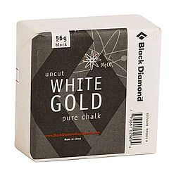 White Gold Climbing Chalk -- 56g block
