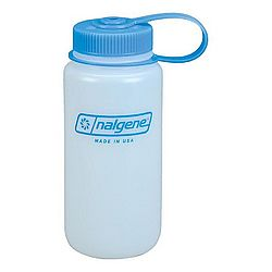 Wide Mouth Hdpe Water Bottle - 16 Oz