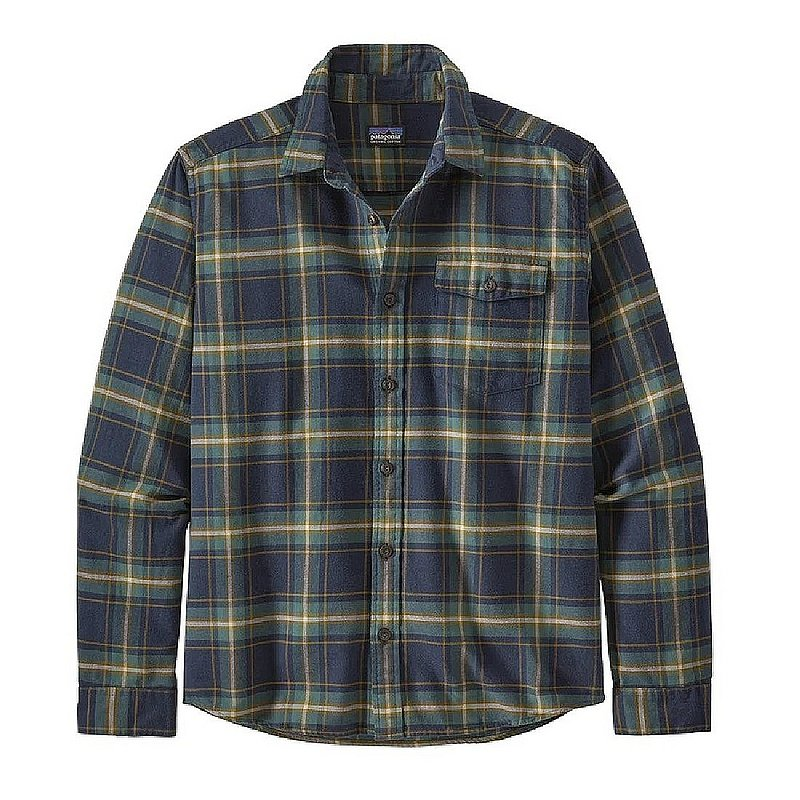 Patagonia Men's Long-Sleeved Lightweight Fjord Flannel Sh...