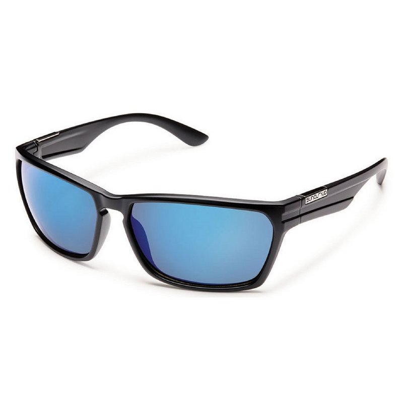 Sun Cloud Cutout (Medium Fit) Sunglasses BLUE MIRROR POLAR
