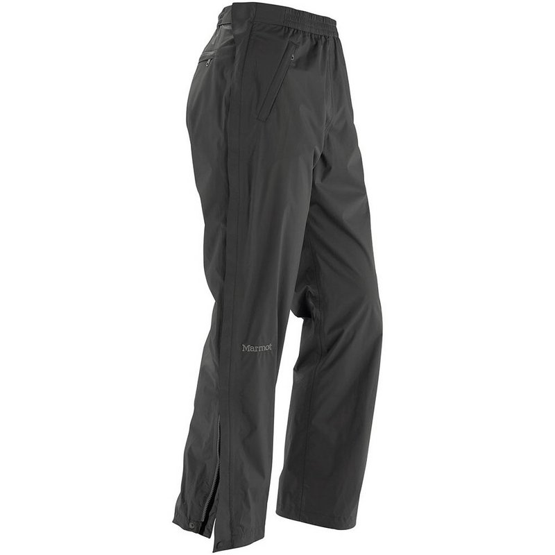 Marmot Men's Precip Full Zip Pant BLACK M REG